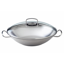 ORIGINAL-PROFI COLLECTION 35CM WOK WITH GLASS LID