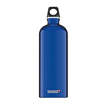 TRAVELLER DARK BLUE 1L WATER BOTTLE