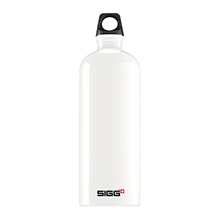 TRAVELLER WHITE 1L WATER BOTTLE