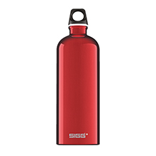 TRAVELLER RED 1L WATER BOTTLE