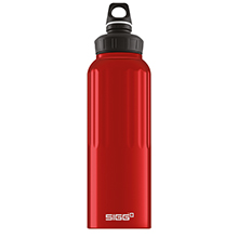 TRAVELLER DARK RED 1.5L WMB WATER BOTTLE