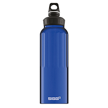 TRAVELLER DARK BLUE 1.5L WMB WATER BOTTLE