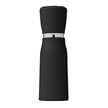 PUSH/PULL NOSH PEPPER GRINDER - BLACK