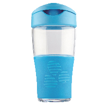 TRANSPORTABLE 500ML DIRECT-DRINK JAR - BLUE