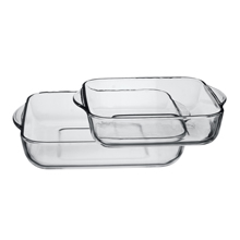 2PC SQUARE TRAY SET (22CM + 28CM)