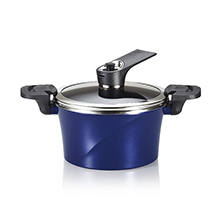 20CM / 2.8L IH VACUUM STOCK POT + SELF-STANDING LID
