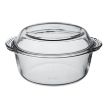 2LT ROUND CASSEROLE + COVER