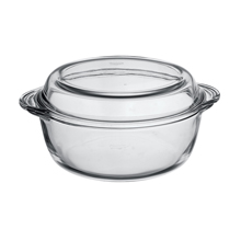 1.5LT ROUND CASSEROLE + COVER