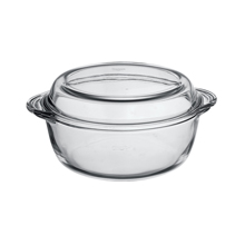 1LT ROUND CASSEROLE + COVER