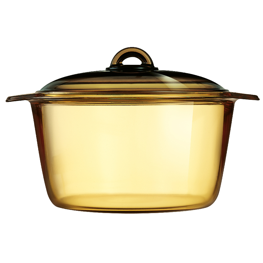 LUMINARC 5L VITROFLAM AMBER-GOLD DIRECT FLAME CASSEROLE