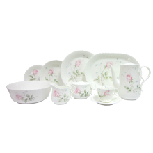 APRIL ROSE - 47PC BONE CHINA DINNER SET