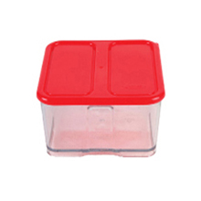 1600ML 2C DEEP CONTAINER WITH RED LID