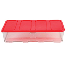 2000ML 4C CONTAINER WITH RED LID