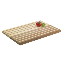OMBRE  -  RECTANGULAR STRIPED BAMBOO CHOPPING BOARD