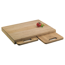 TRIO NATURALLY HYGIENIC 3-PC BAMBOO CHOPPING BOARD