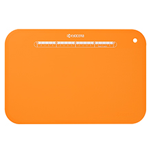 LARGE ANTI-BACTERIAL FOLDABLE CUTTING BOARD WITH STAND (ORANGE)