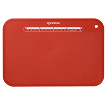 LARGE ANTI-BACTERIAL FOLDABLE CUTTING BOARD WITH STAND (RED)