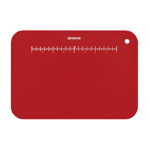 CUTTING BOARD WITH STAND (RED)