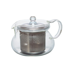 "450ML GLASS TEA POT ""CHAMARU"""