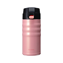 350ML CERAMIC COATED CERABRID MUG - CORAL PINK