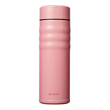 500ML CERAMIC COATED CERABRID MUG - CORAL PINK