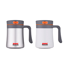400ML ANTI-BAC DOUBLE S/STEEL VACUUMISED DESK MUG