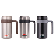 500ML DOUBLE STAINLESS STEEL DESK MUG