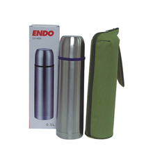 500ML DOUBLE  STAINLESS STEEL BOTTLE + POUCH