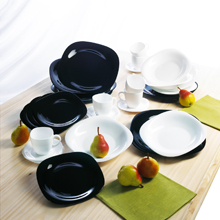 CARINE - WHITE / BLACK