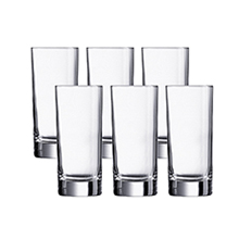 ISLANDE 6PC 290ML HIGHBALL GLASS SET