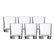 ISLANDE 6PC 300ML OLD FASHIONED GLASS SET