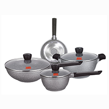 7PC INDUCTION DIE CAST COOKWARE SET