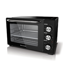 32L 1500W OVEN TOASTER WITH ROTSSERIE FORK AND CONVECTION