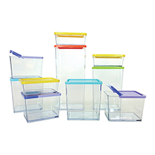 "20-PC ""POCKET BLOCK"" STACKABLE KITCHEN ORGANISER SET"