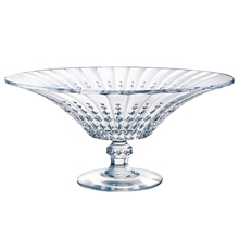 LADY DIAMOND FOOTED BOWL