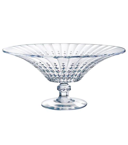 Cristal Darques Lady Diamond.Lady Diamond Footed Bowl Heap Seng Group Pte Ltd