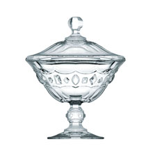 ALLURE FOOTED CANDY-DISH