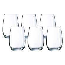 HERMITAGE 6PC 370ML HIGHBALL GLASS SET