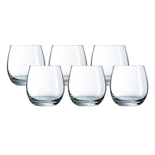 HERMITAGE 6PC 320ML OLD FASHIONED GLASS SET