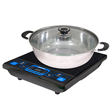 2000W INDUCTION COOKER WITH POT