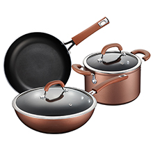 ELEMENTS 5-PC INDUCTION COOKWARE SET