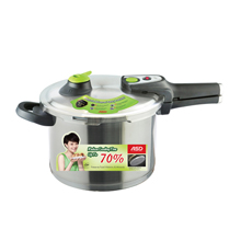 6LT 18/10 FULL STAINLESS STEEL PRESSURE COOKER