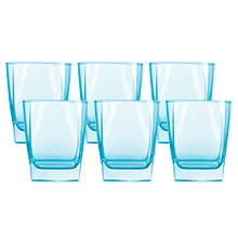 STERLING 6PC 300ML ICE BLUE OLD FASHIONED GLASS SET