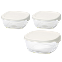 STOCKER SQUARE 3PCS SET - WHITE