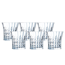 LADY DIAMOND 6PC 27CL OLD FASHIONED TUMBLER SET