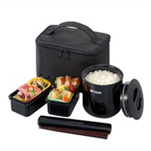 0.36LT THERMAL LUNCH BOX WITH BAG