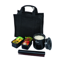 0.36LT THERMAL BENTO BOX WITH BAG