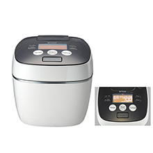 1.8L PRESSURE INDUCTION HEATING RICE COOKER/WARMER