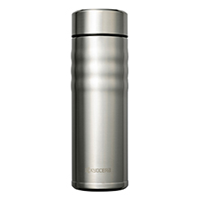 500ML CERAMIC COATED CERABRID MUG - STAINLESS STEEL