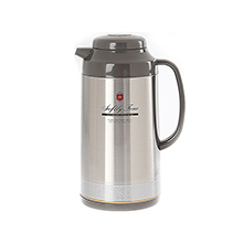 1L STAINLESS STEEL FINISH HANDY JUG